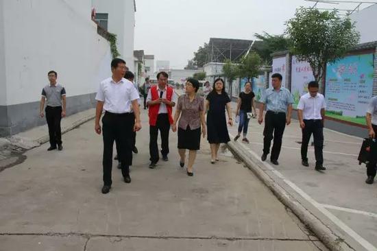 省文明办领导视察林州市农村精神文明建设工作图片