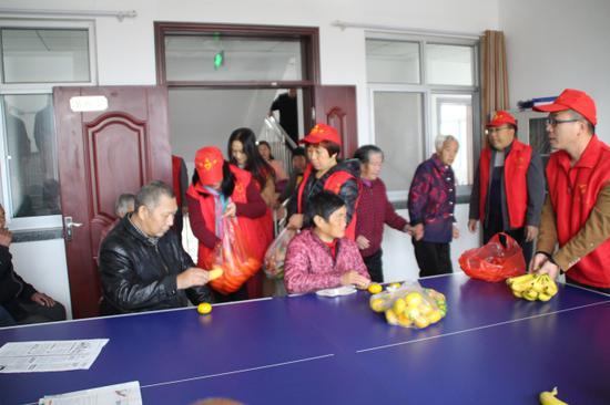 林州市第七中学开展重阳节关爱老人活动-安阳文明网图片